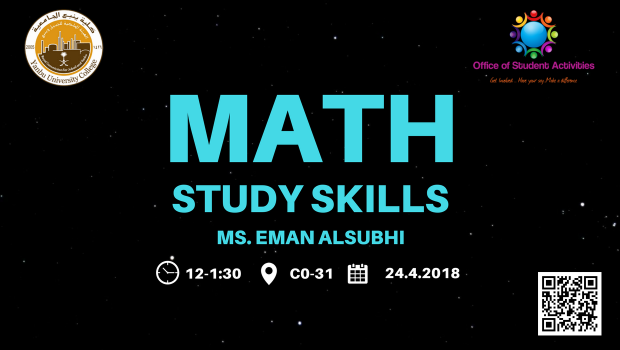 24.4.2018_StudentActivities_Math study skills