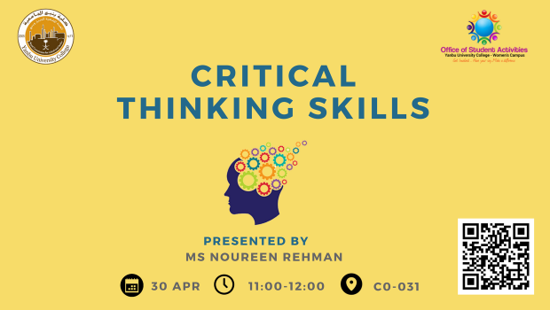 30.4.2018_StudentActivities_Critical Thinking Skills
